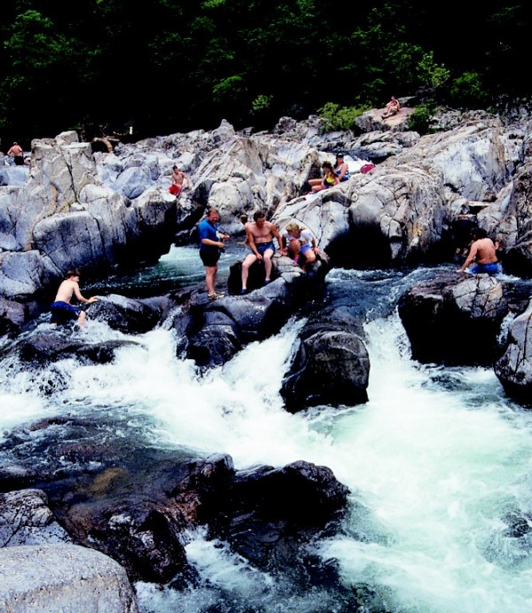 Johnson's Shut-ins in Missouri is one of the best swimming holes in America.