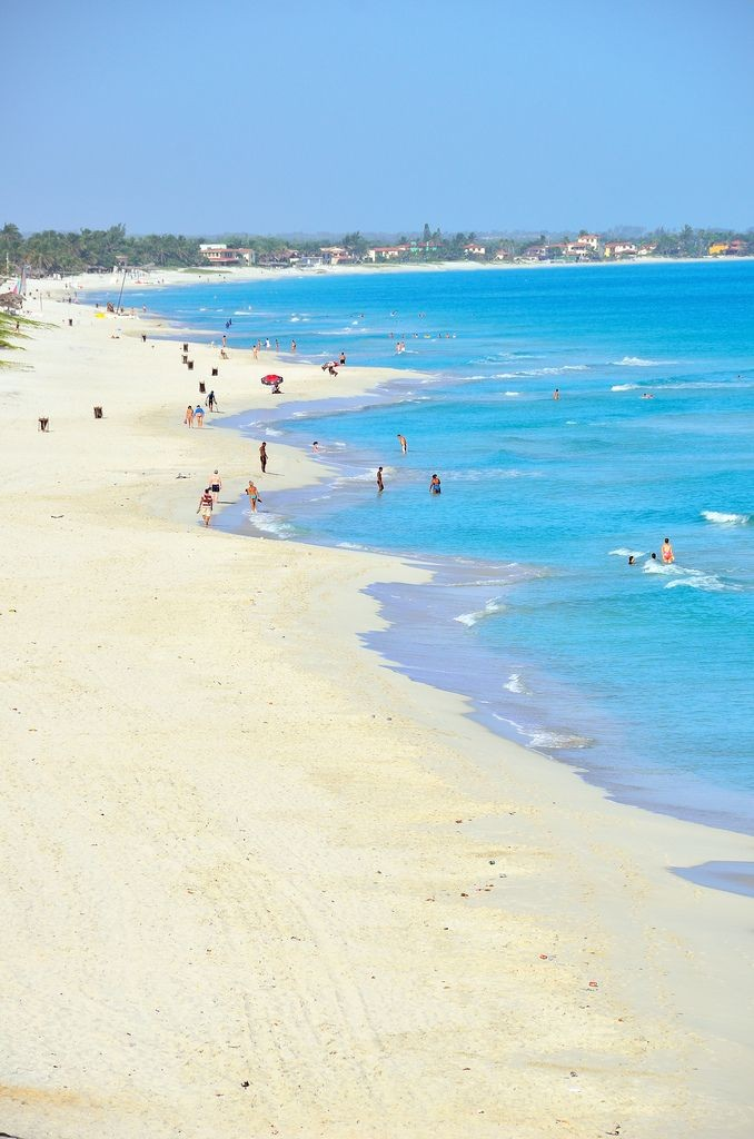 Varadero is one of 5 best beaches in Cuba.