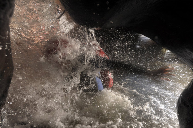 Exploring Australia's slot canyons is only for good-skilled climbers.
