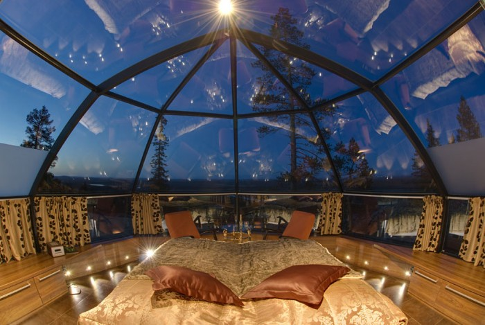 Best hotel rooms with a view in Finland.
