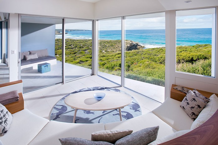Best hotel rooms with a view in the Kangaroo islands in Australia.