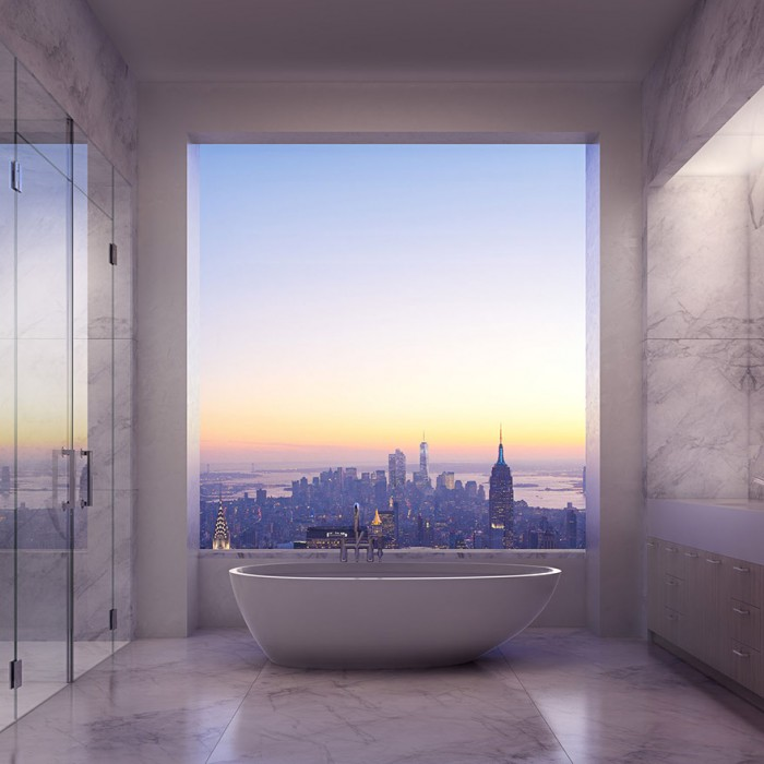 Best hotel rooms with a view in New York in the USA.