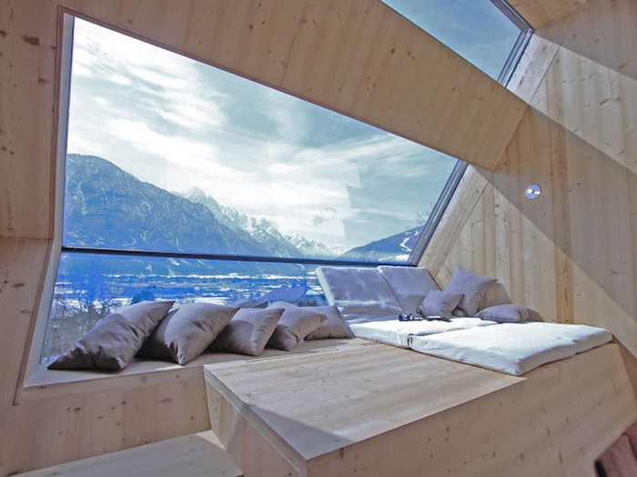 Best hotel rooms with a view from in Nussdorf in Austria.