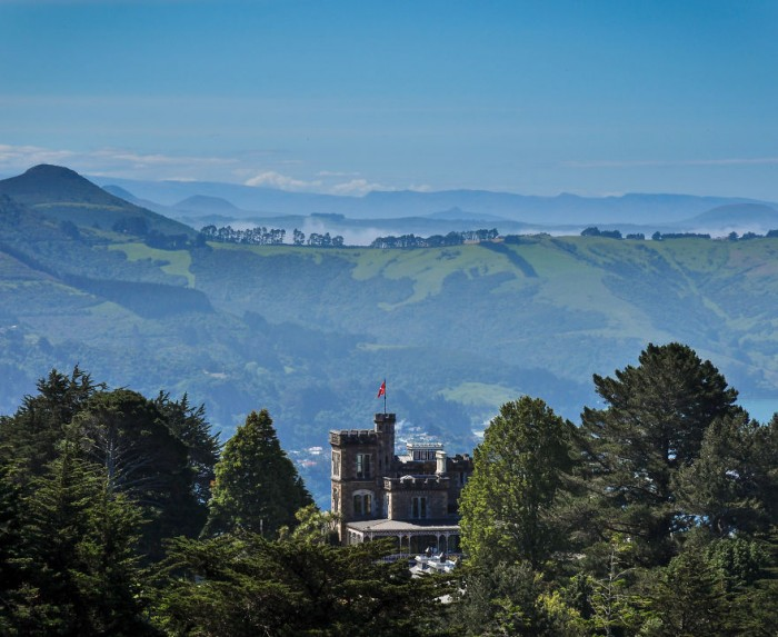 Larnach Castle is one of the most beautiful places of New Zealand's South Island.