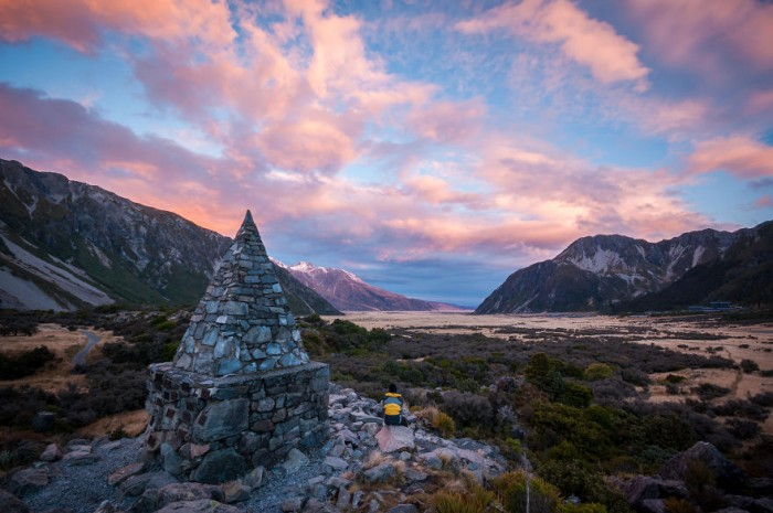 New Zealand's South Island has some of the most beautiful sunsets in the world.