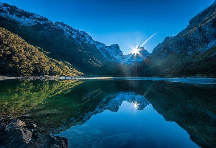 Routeburn Track is one of the 10 must-see spots of New Zealand's South island.