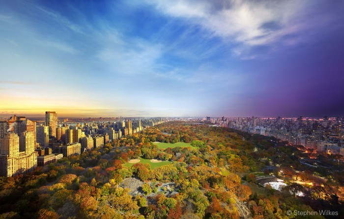 Stephen Wilkes Photography - Central Park in New York