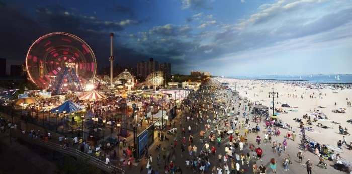 Coney Island taken by Stephen Wilkes
