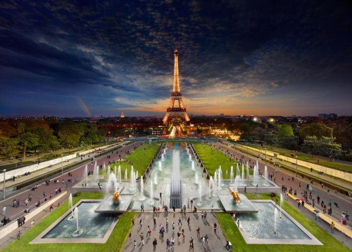 Stephen Wilkes Photography - Eiffel Tower in Paris