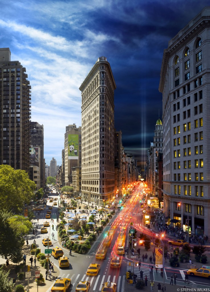 Stephen Wilkes Photography - Flatiron in New York
