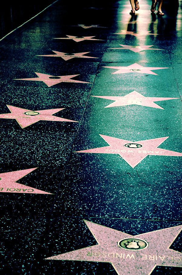 Hollywood walk of Fame is one of the 20 most checked-in places on Facebook in 2015.