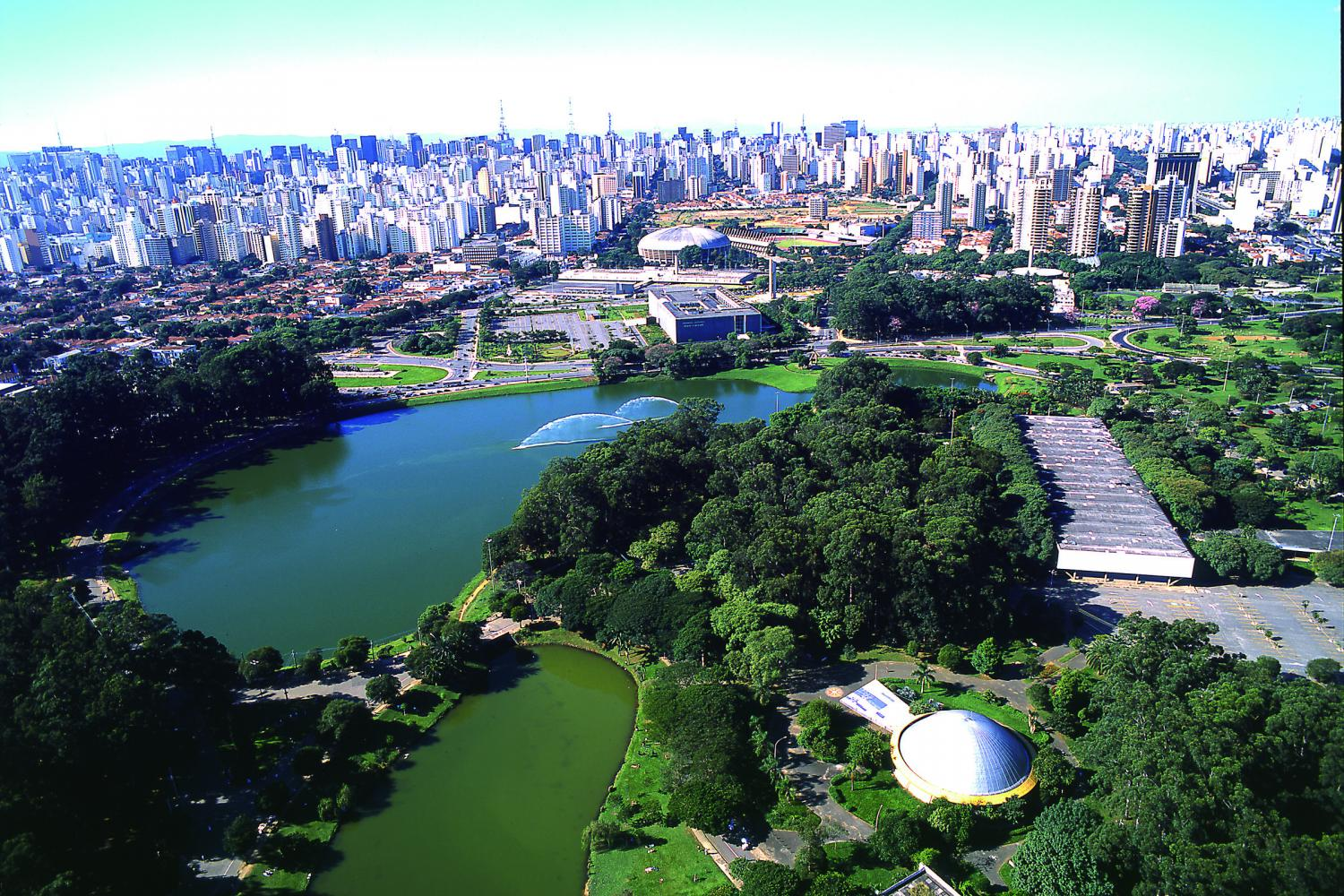 Ibirapuera Park in Brazil is 15th on the list of the 20 most checked-in places on Facebook in 2015.