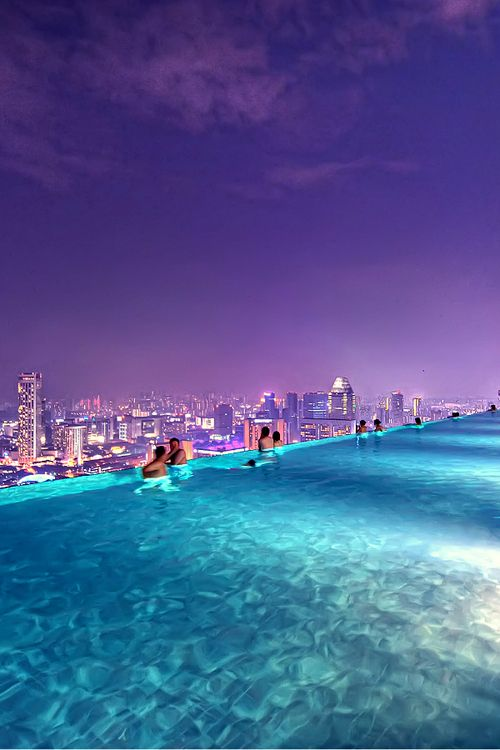 Marina Bay Sands in Singapore is one of the 20 most checked-in places on Facebook in 2015.