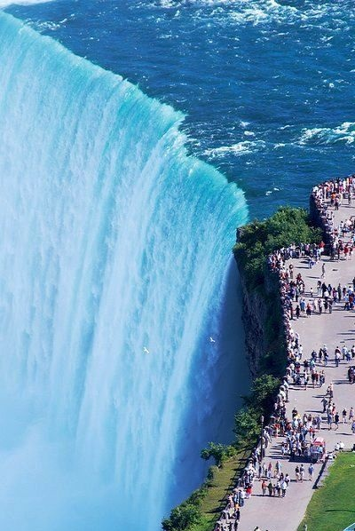 Niagara Falls is one of the 20 most checked-in places on Facebook in 2015.