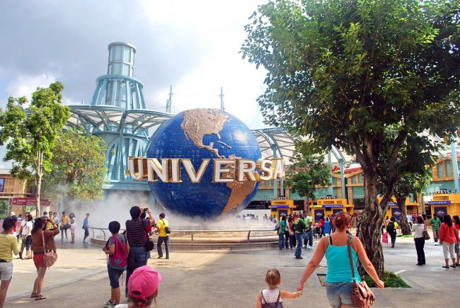 Universal Studio Properties is one of the 20 most checked-in places on Facebook in 2015.