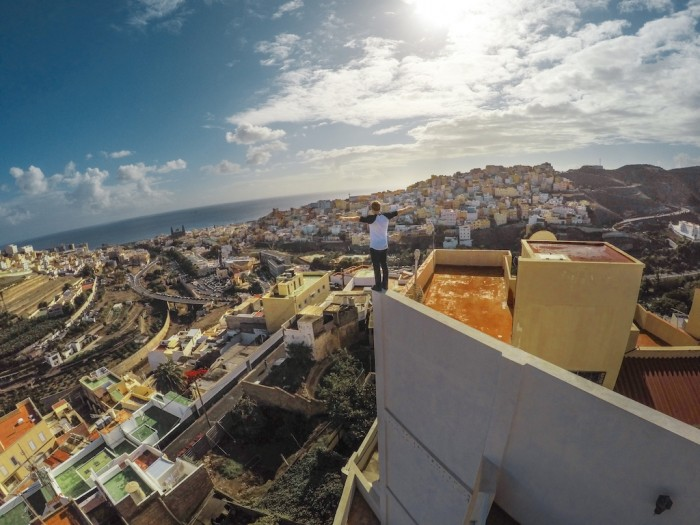Danny MacAskill goes rooftopping in Spain. Enjoy the ride!