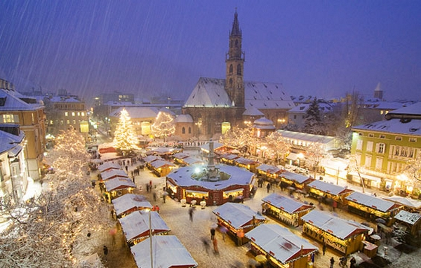 One of the best Christmas markets in Europe is in Bolzano in Italy.