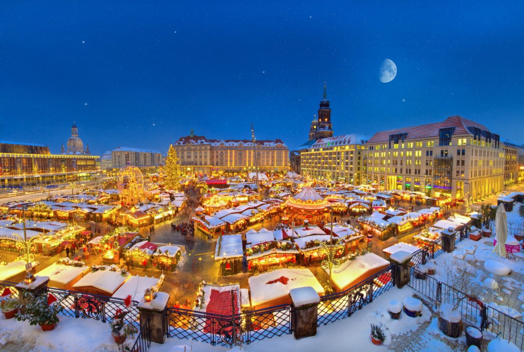 Dresden is one of the best Christmas markets in Europe.