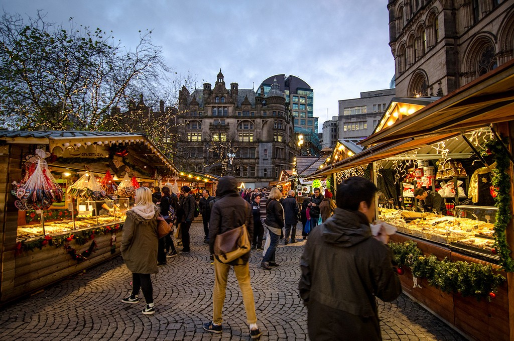 If you are thinking about the your next destination, maybe you should consider visiting Manchester , which has one of the best Christmas markets in Europe.
