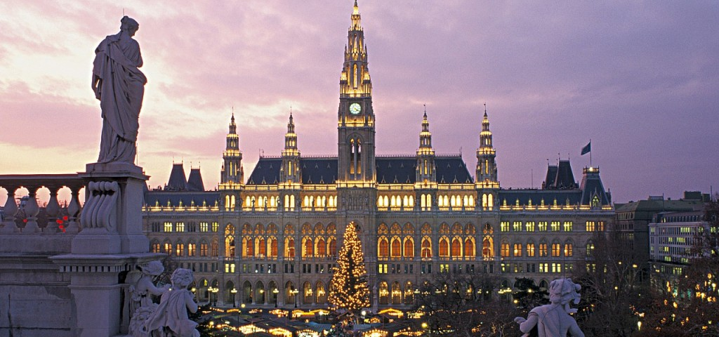The first Christmas markets ever held in Europe took place in Vienna.