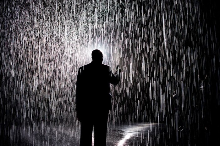 Do you think walking through rain without getting wet is possible?