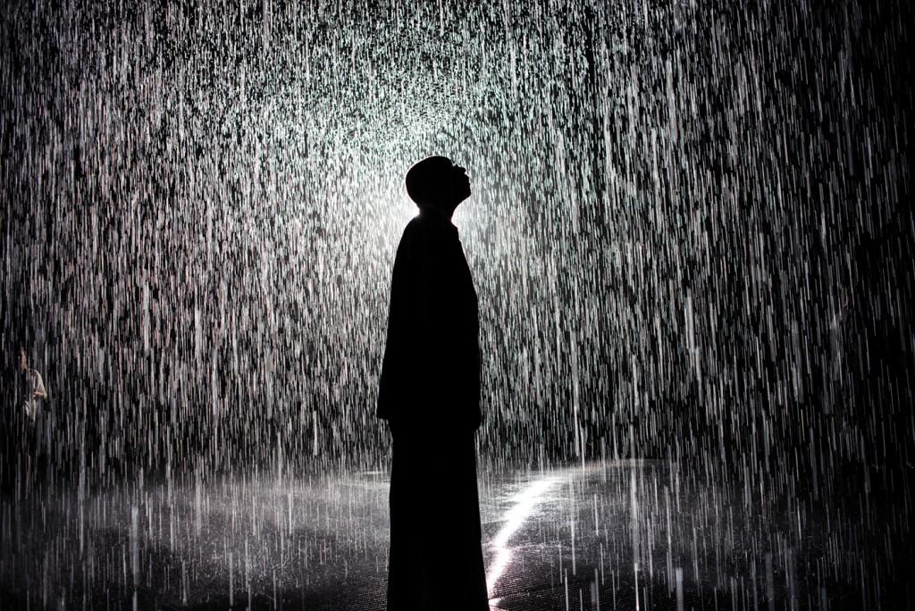 Walking Through Rain Without Getting Wet