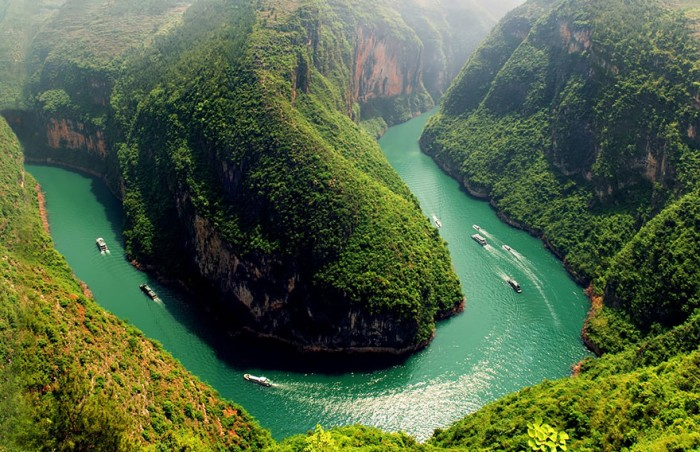 Top reasons to visit China - Yangtze River.
