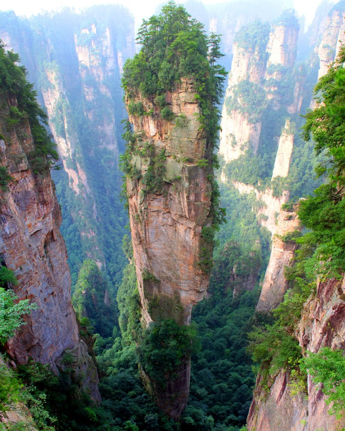 Top reasons to visit China - Tianzi Mountain