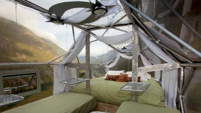 The scariest hotel room is located in Cusco in Peru.