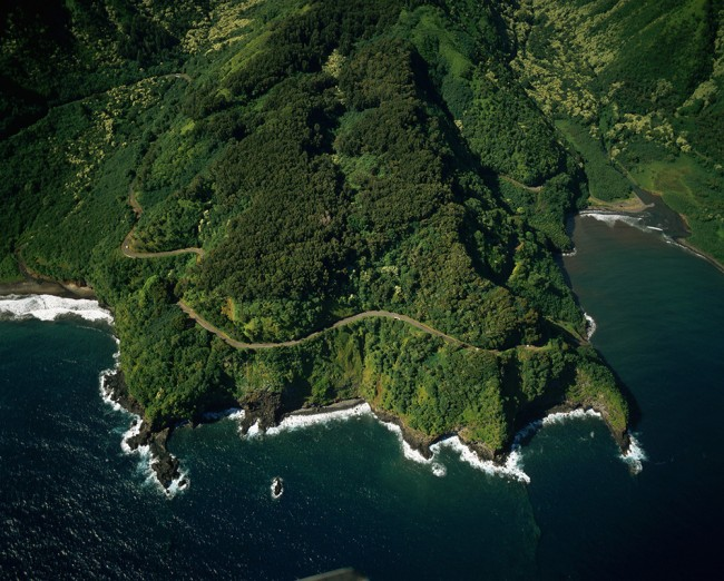 Hana road in Hawaii is one of the world's 8 scariest roads.