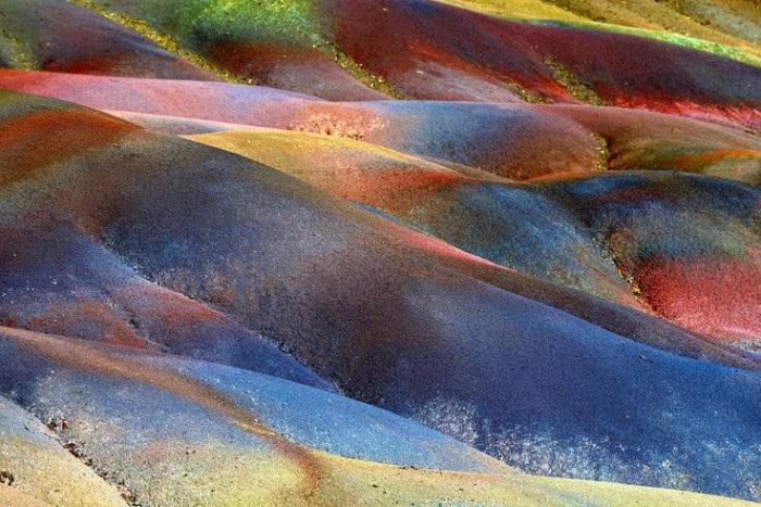 Seven Colored Earth of Chamarel is one of the major tourist attractions in Mauritius.