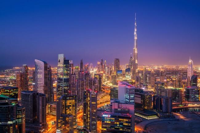 Incredible fisheye view of Dubai captured by Albert Dros.