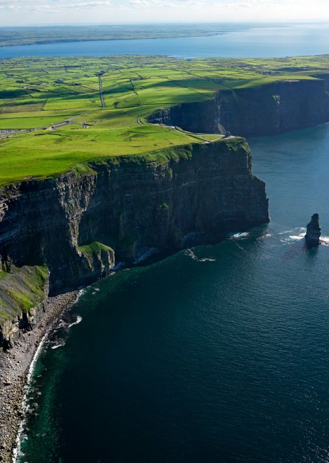 Cliffs of Moher in Ireland is one of the most magical places on the planet.