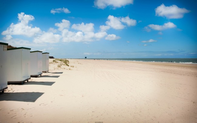 Renesse beach in the Netherlands is a great place to recharge the batteries.
