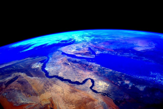 Stunning photos from the International Space Station Egypt.