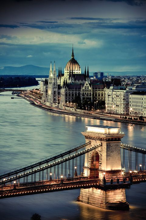 Budapest in Hungary is one of the most popular Valentine's Day destinations.