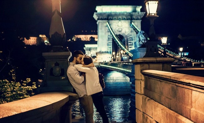 Budapest in Hungary is one of the most famous Valentine's Day destinations.