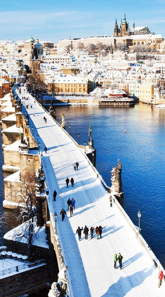 Prague in Czech Republic is one of the top 10 Valentine's Day destinations.