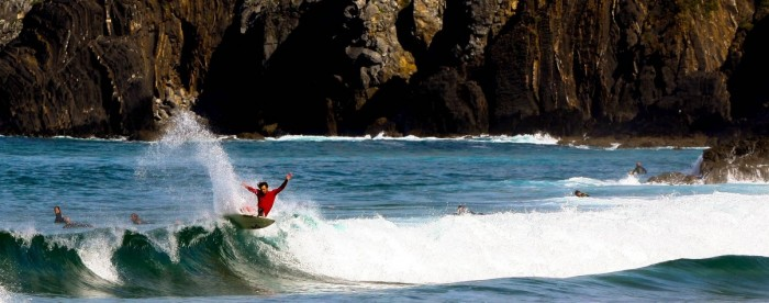Bakio in Spain is one of the top 7 amazing surf spots in the world.
