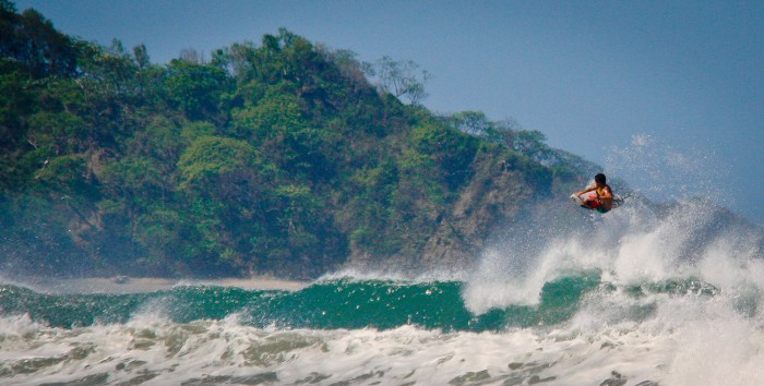 Visit Nosara in Costa Rica, one of the 7 amazing surfing spots for beginners.