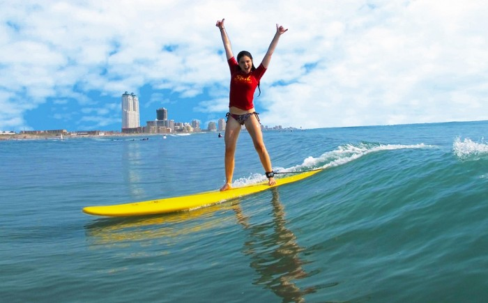 South Padre island in Texas is one of the top 7 amazing surf spots in the world.