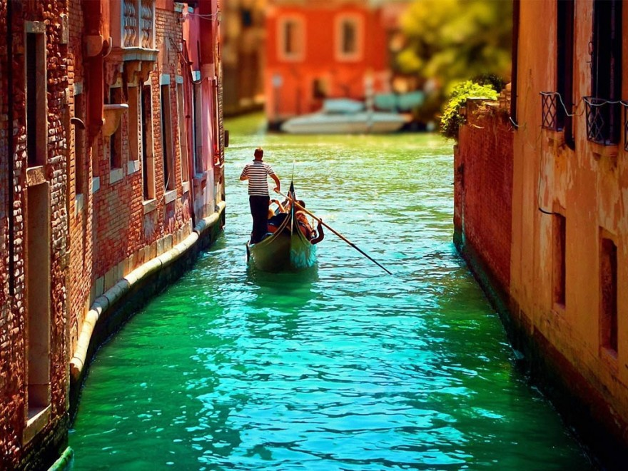Taking a gondola ride in Venice during high and low season are two different things.
