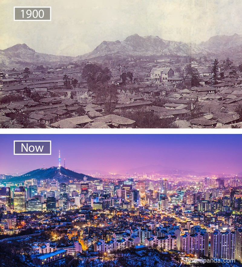 This is what Seoul in South Korea looks like 100 years after.