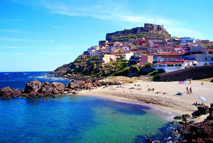 Castelsardo in Sardinia is one of the most gorgeously picturesque villages in Italy.
