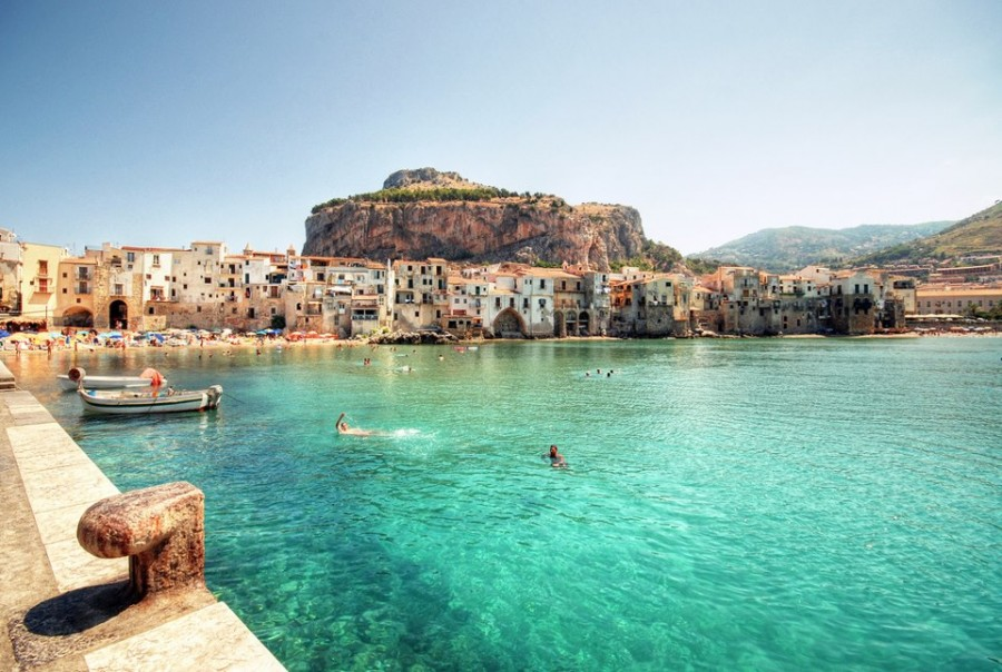 Cefalu in Sicily is considered to be one of the most gorgeously picturesque villages in Italy.