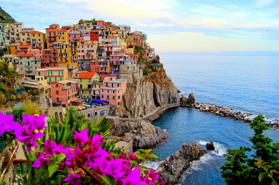 Manarola is one of many gorgeously picturesque villages in Italy.
