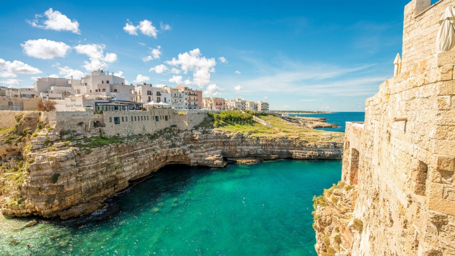 Polignano a Mare is one of the most gorgeously picturesque villages in Italy.