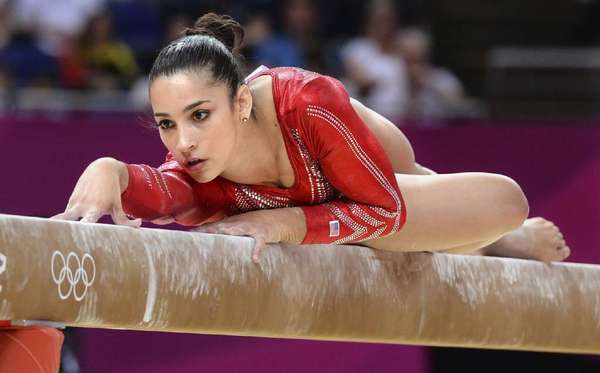 Aly Raisman from USA is one of the hottest female and male athletes in Rio Olympics 2016.