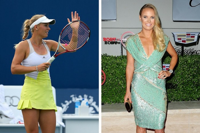 Caroline Wozniacki is one of the hottest female and male athletes in Rio Olympics 2016.