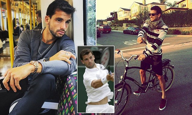 Grigor Dimitrov from Bulgaria is one of the hottest female and male athletes in Rio Olympics 2016.